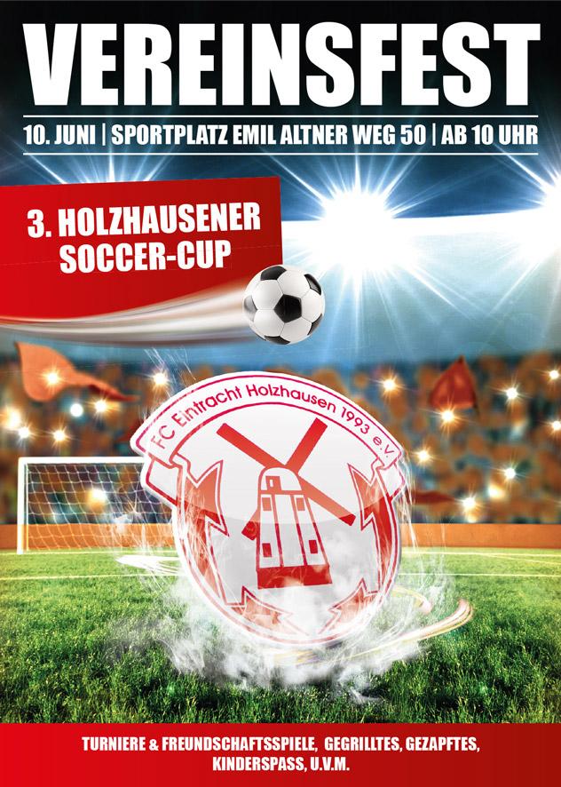 VEREIN  Vereinsfest und Soccer Cup am 10. Juni