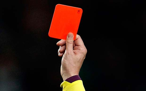 "Foto: ""red card"" by Ian Burt on Flickr 