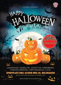 Halloween 30 Oktober.Verein Halloween Feier Am Dienstag Den 30 Oktober Fc