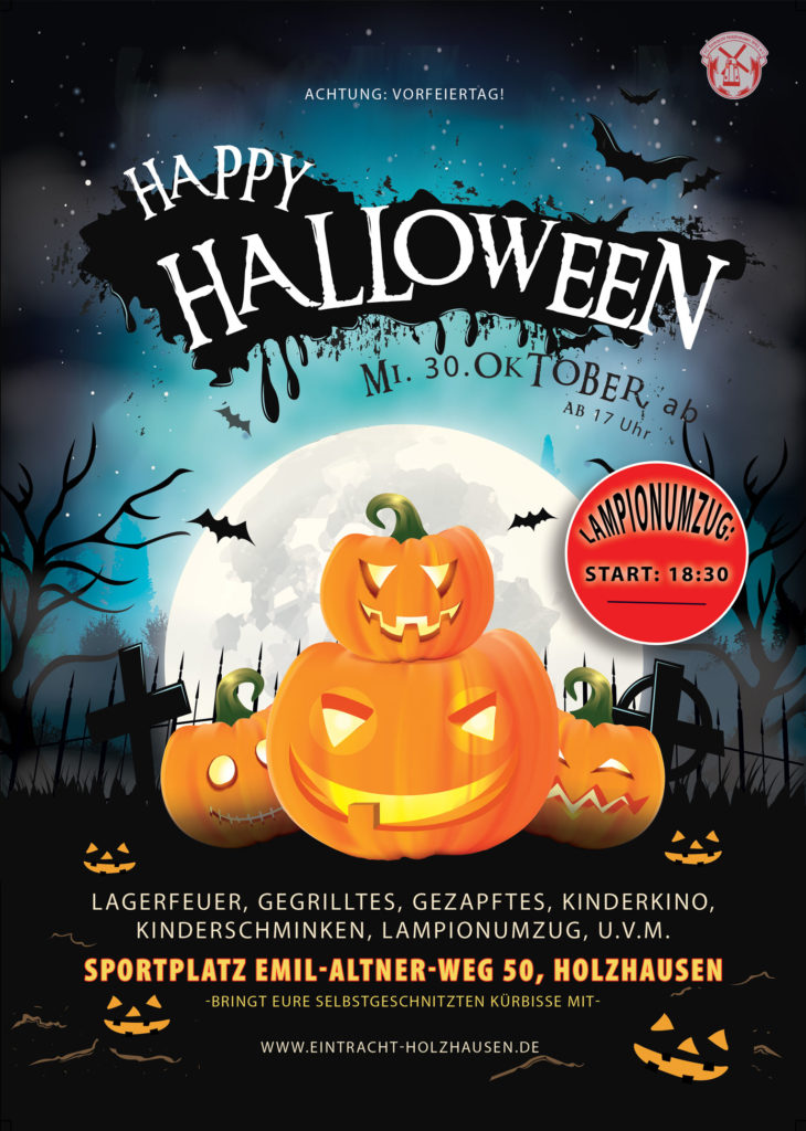 VEREIN |Halloween am 30. Oktober 2019!